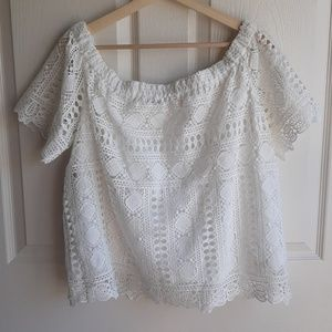 Anthropologie Tops - Sunday In Brooklyn Off The Shoulder Top Size Large